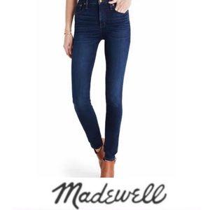 Madewell Skinny Skinny Raw Hem Jeans